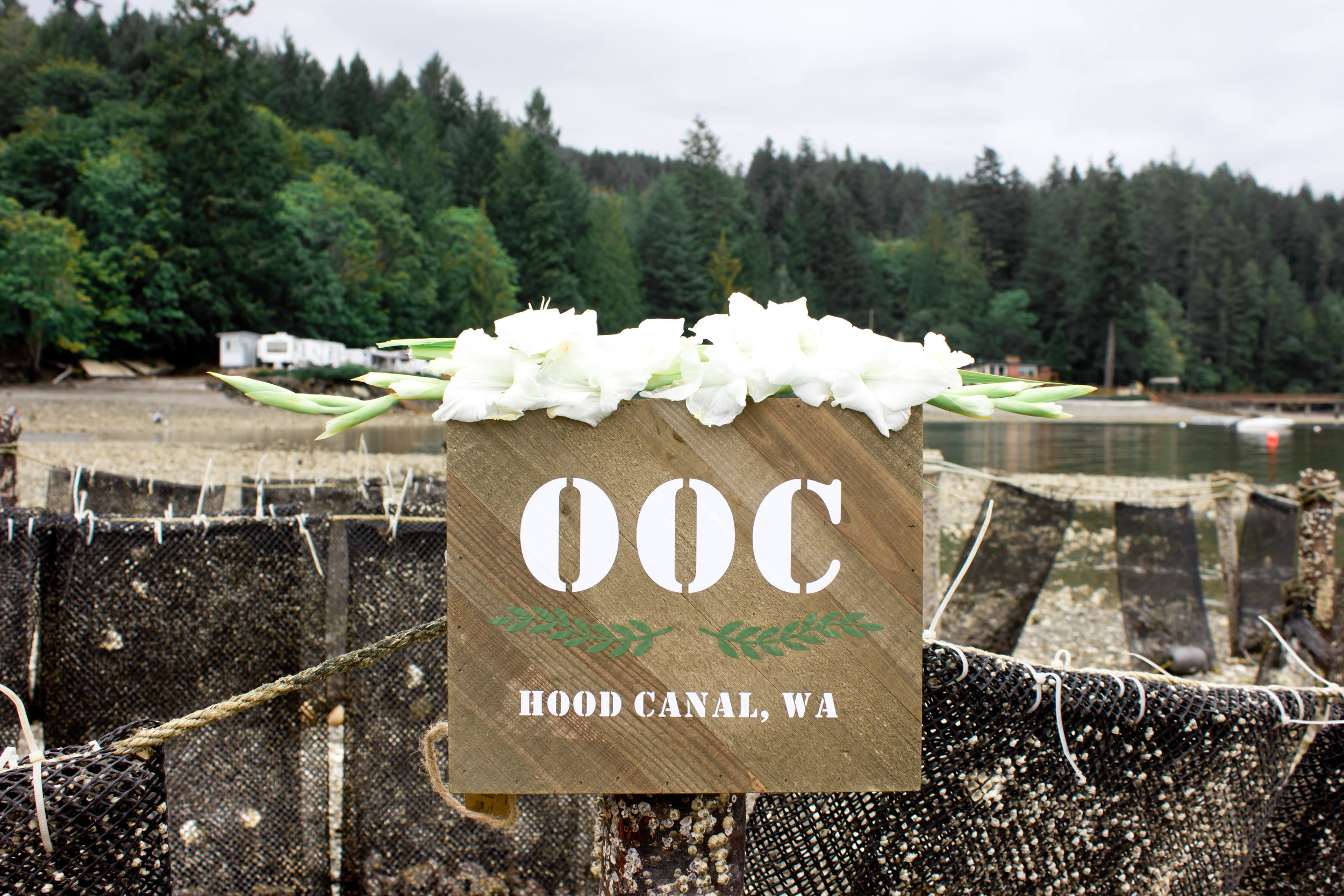 Welcome to Olympic Oyster Co. Credit: Miriam Sebring Photography.