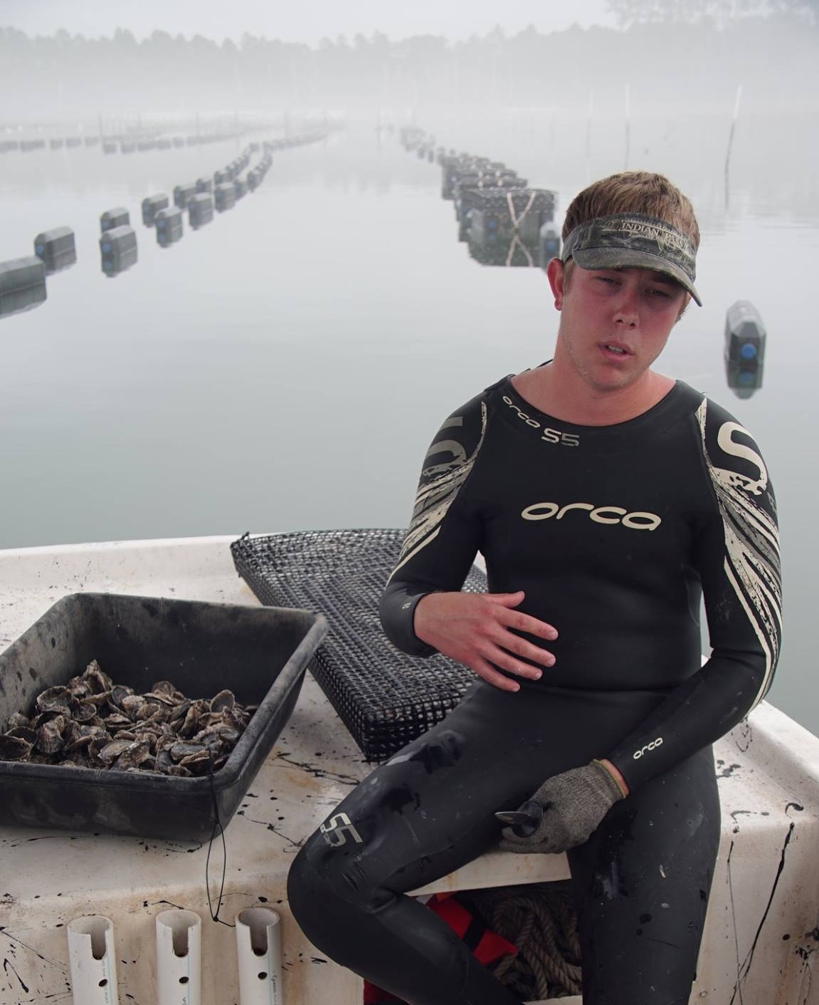 Reid, the Founder of Oyster Boss. Source: Burns Images.