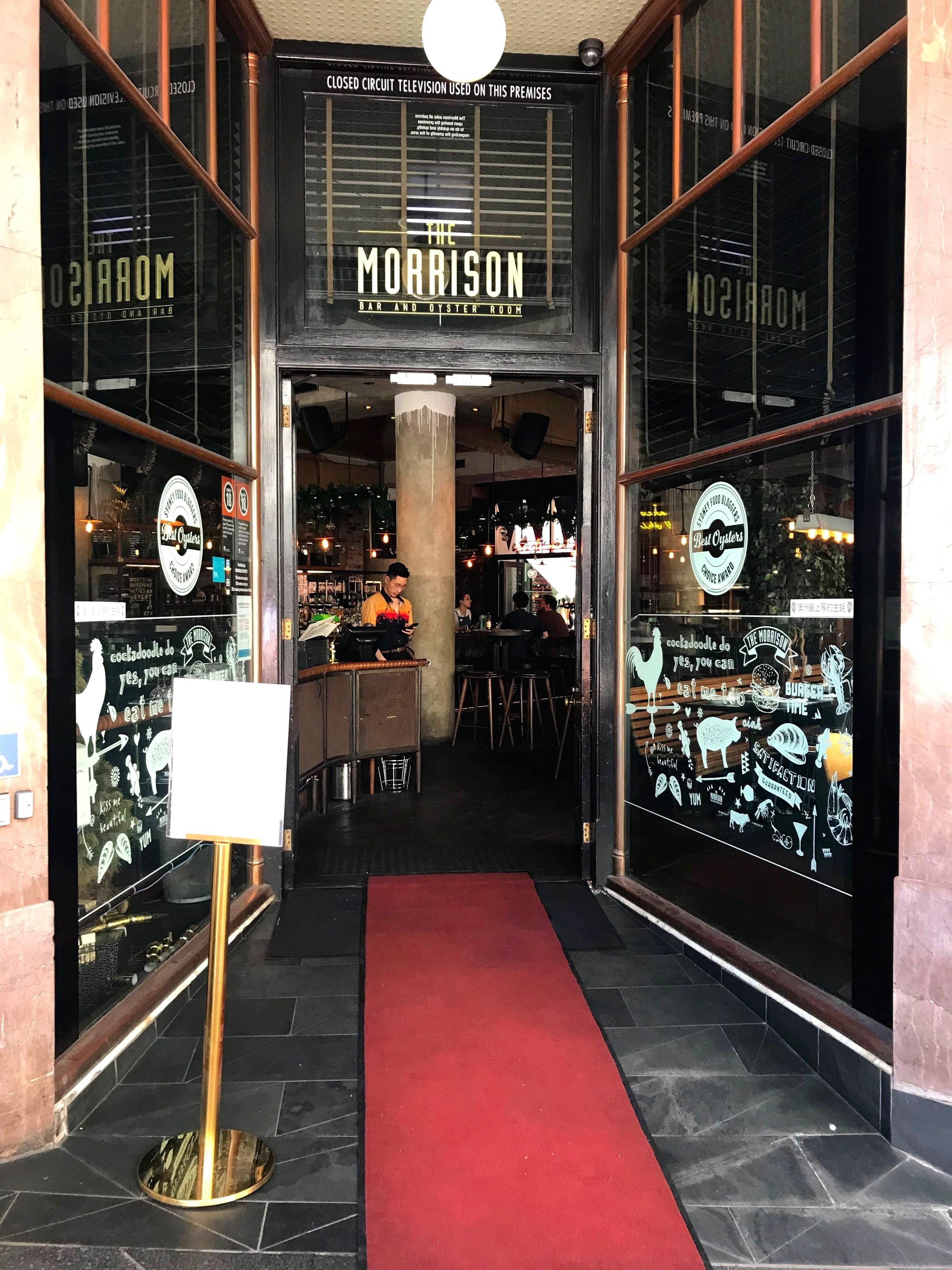The Morrison Bar Entrance