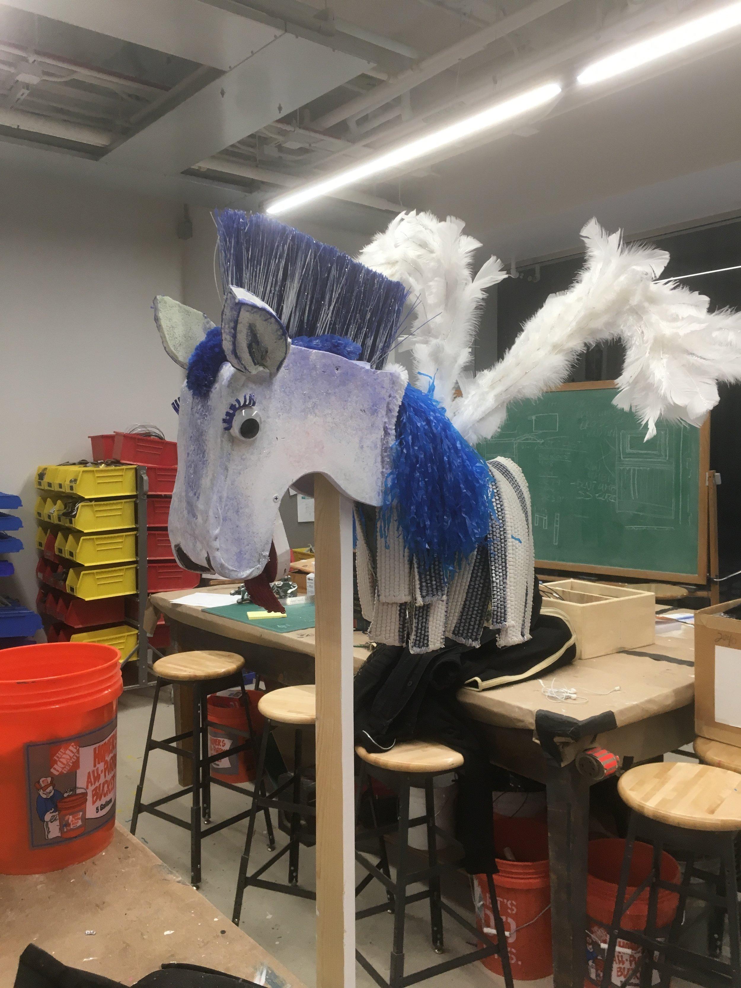 Pegasus Hand Puppet