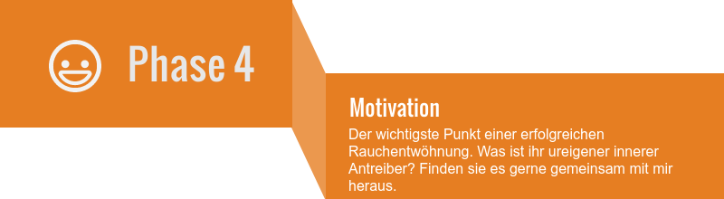Rauchen-aufhoeren-Phasen-Phase-4 - Motivation - Nichtraucher Hypnose funktioniert nur mit der entsprechenden Motivation