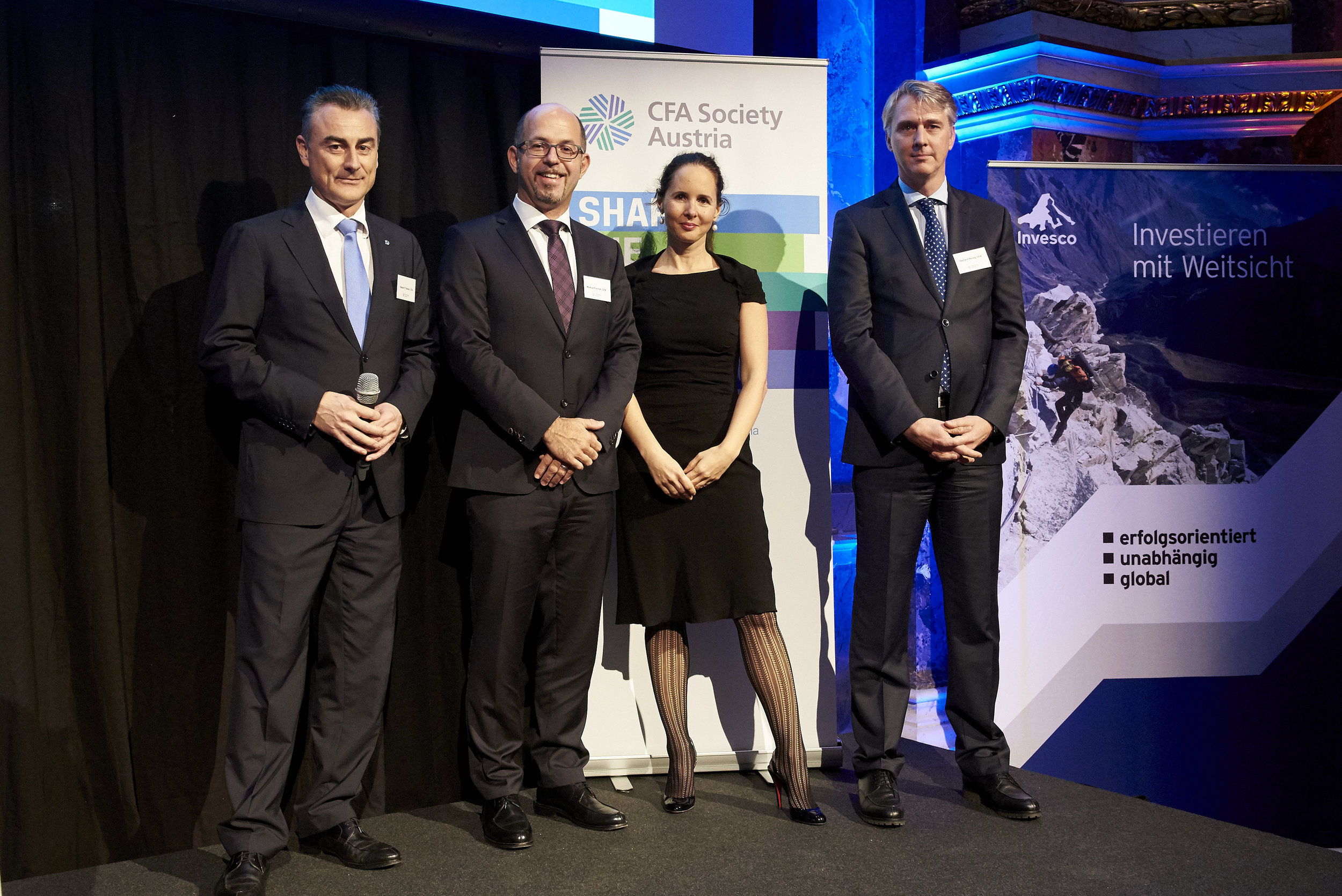 Board Members (from left to right): Harald Holzer, Markus Poscher, Karin Reschenhofer, Gerhard Beulig