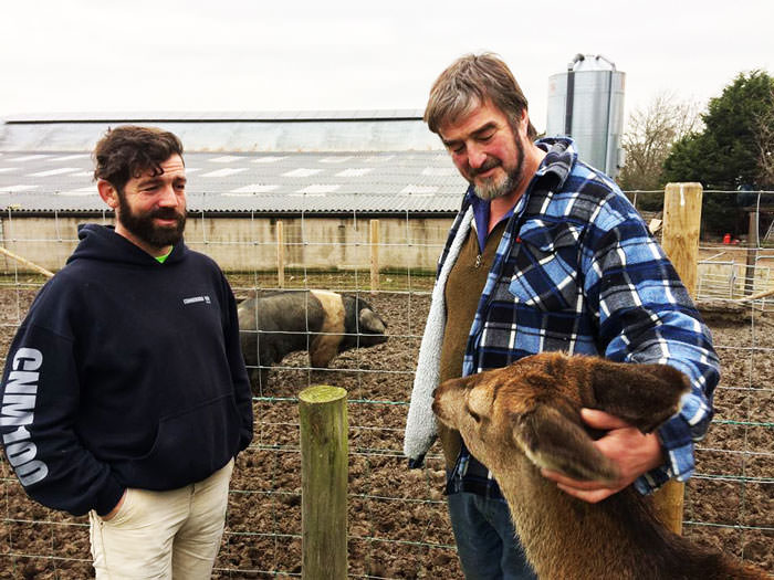 Kenny Gracey Pork Farmer Northern Ireland