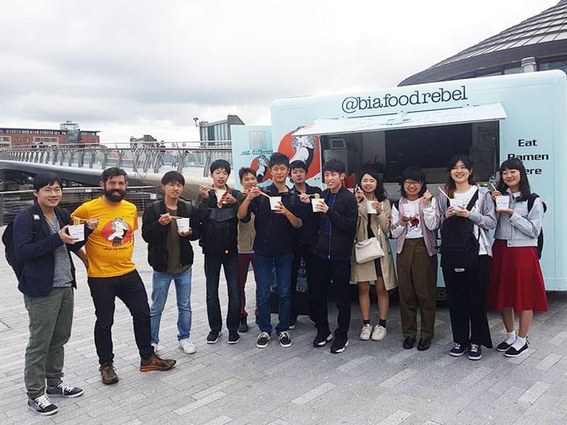 Japanese Ramen Truck Bia Rebel Belfast