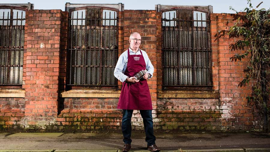 Photo Of Jawbox Gin founder Gerry White by  Elaine Hill