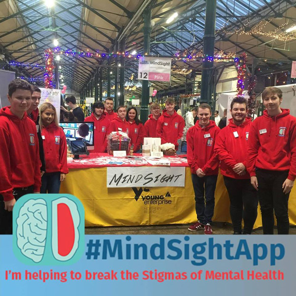 Check out this cracking YENI team  MindSight : an app that seeks to address the issues of mental health and suicide in Northern Ireland.