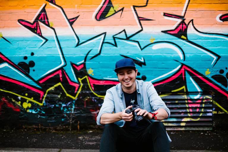 Headshot of freelancer photographer + videographer  Dillon Osborne
