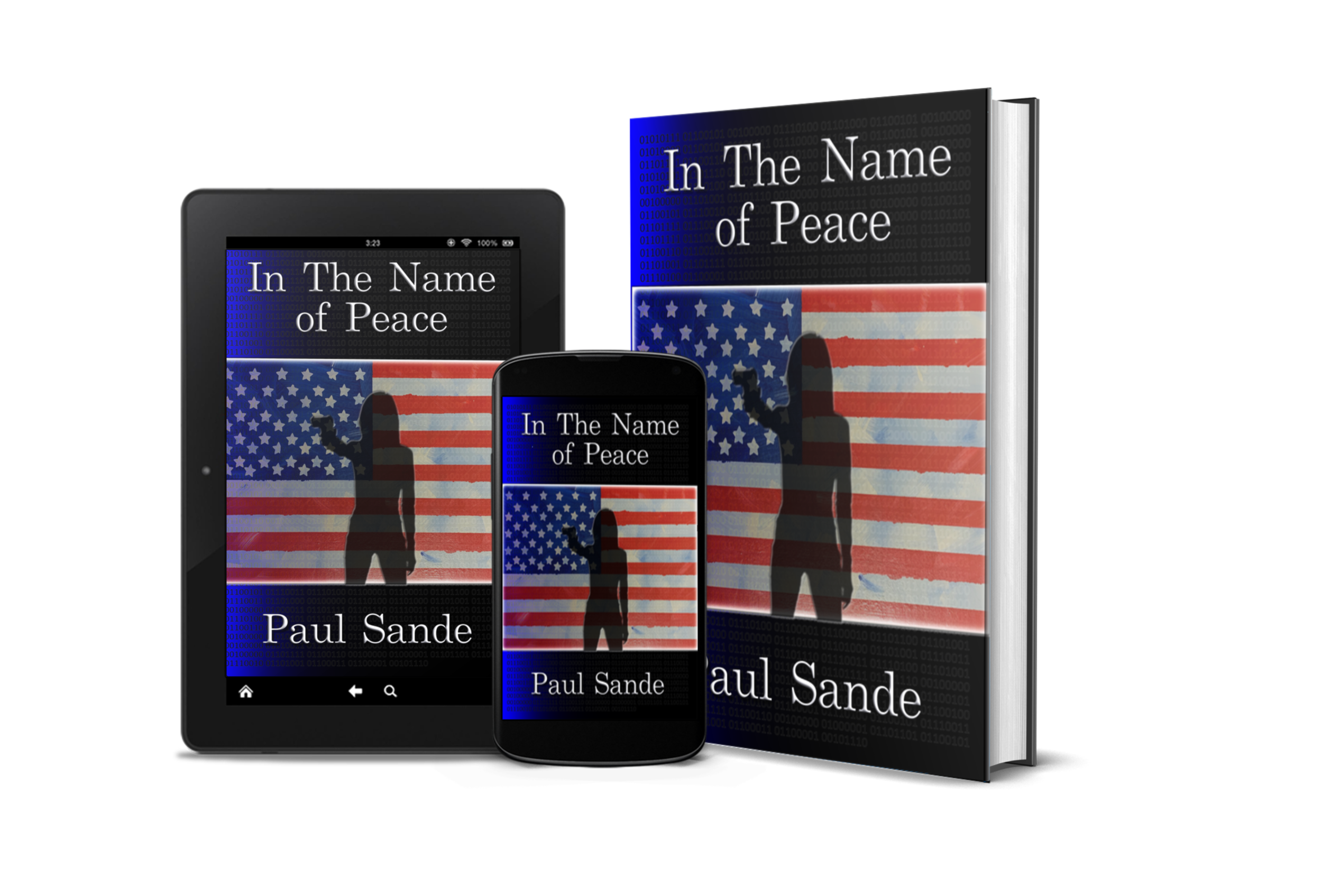 In The Name of Peace Front Cover Gun Forward 3D Composite Hard Cover.png