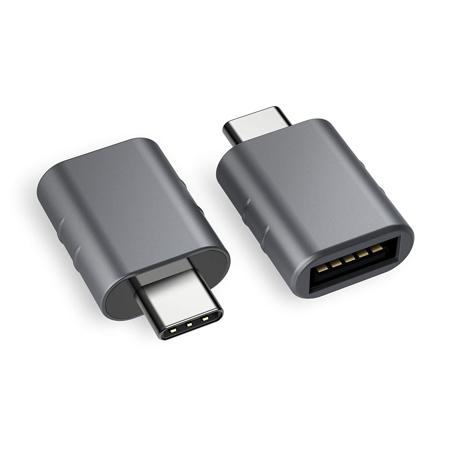 USB-C to USB ADAPTOR - Apple is going to USB-C for all of their new computers and that makes it difficult when EVERYTHING YOU OWN plugs into a USB. Well - here's an inexpensive solution!