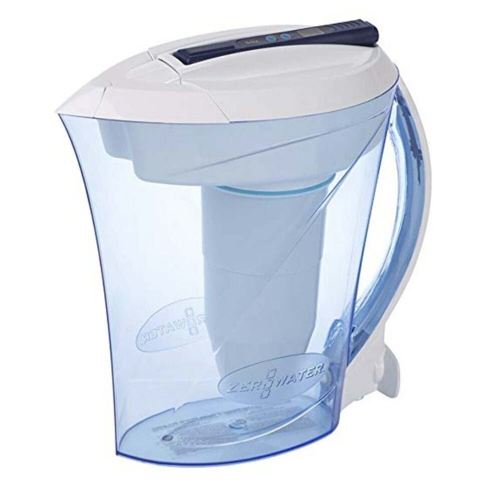 ZERO WATER PITCHER - This pitcher filters some great-tasting water! Our tap water tends to have a chlorine-smell to it, but this pitcher gets all that gunk out! AND it comes with a digital testing meter.