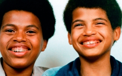 Dele pictured with his brother Miles.