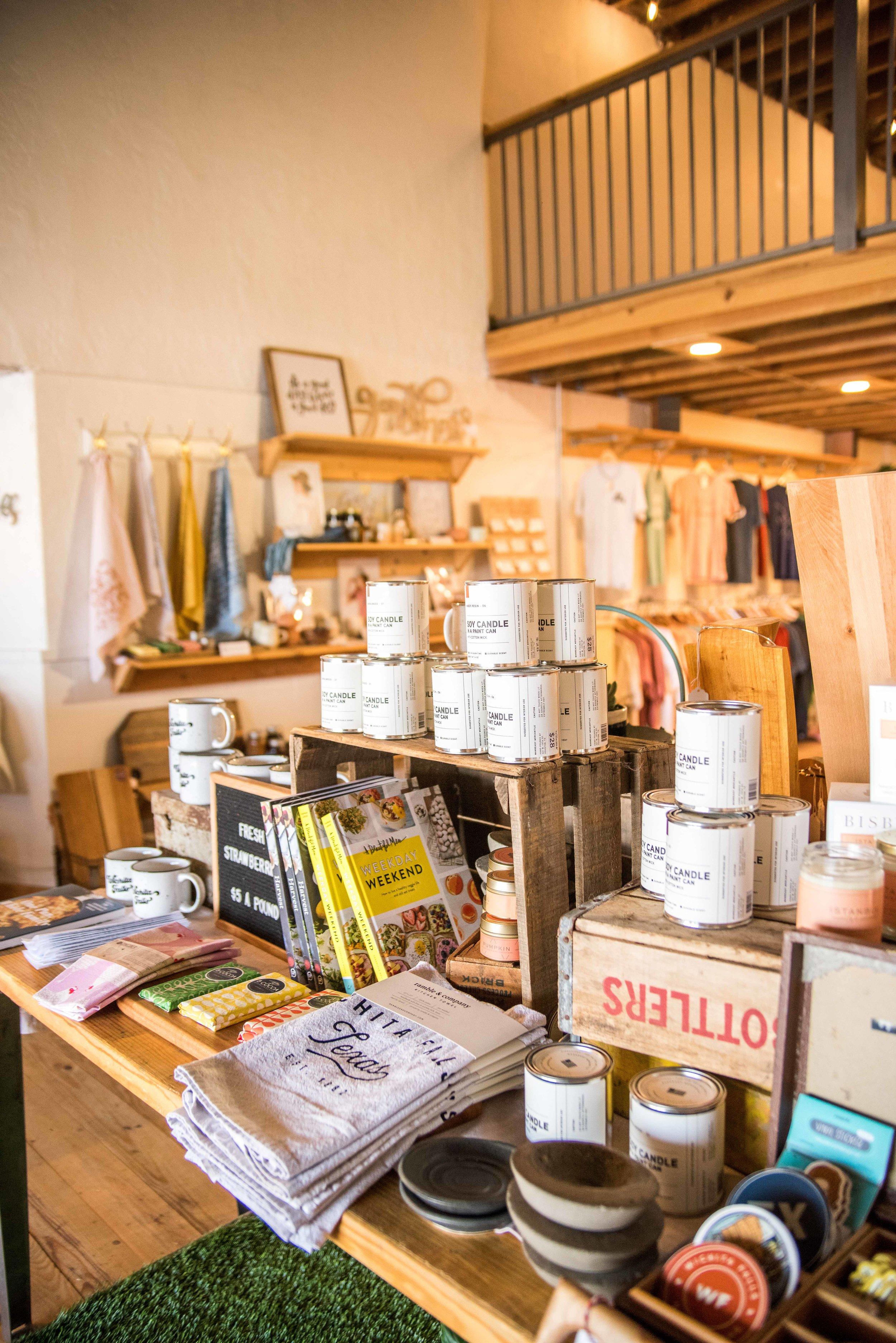 Downtown Wichita Falls, Ramble & Company || Shop small - Screen Printing and Retail Store