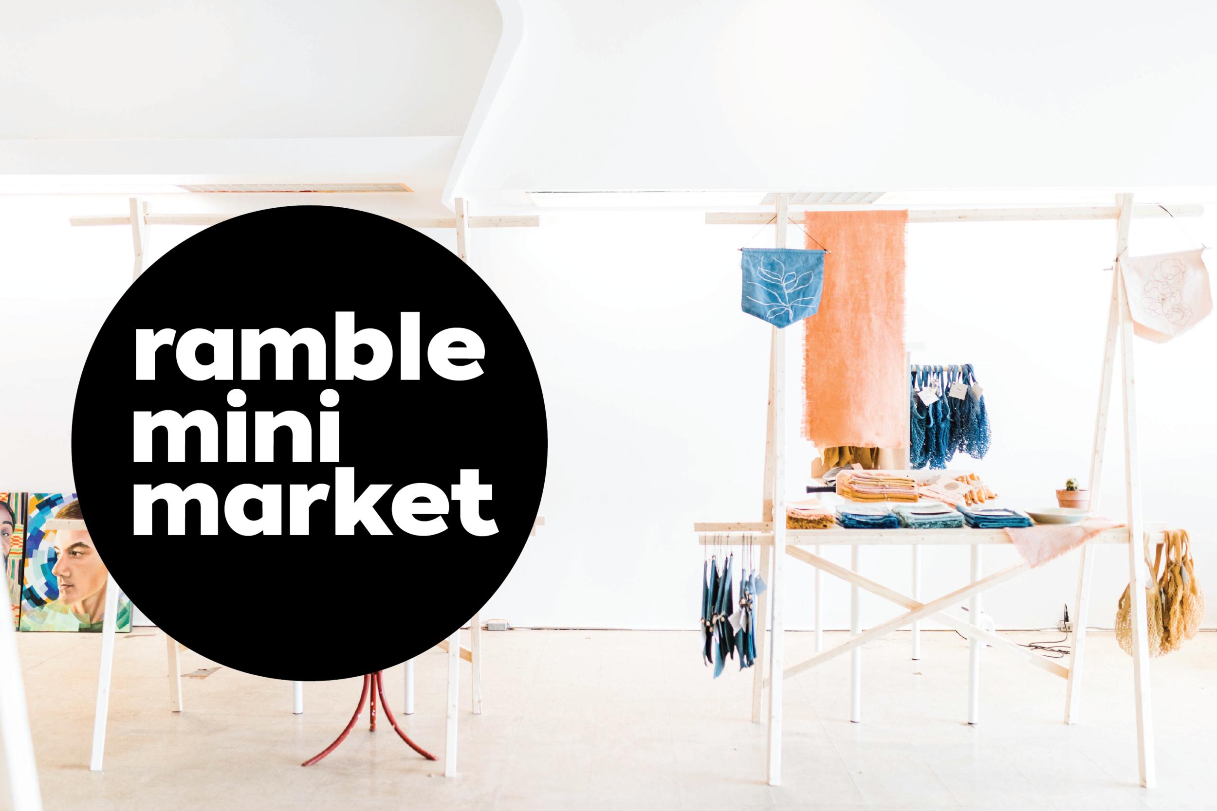 ramble mini market at ramble & co. || wichita falls, tx || pop-up shop venue