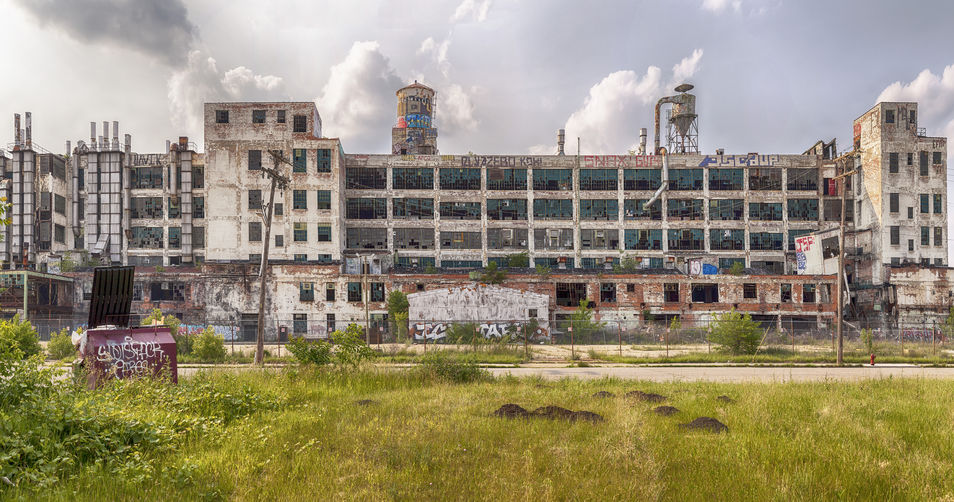 General Motors' Fisher Body Ruins of Detroit