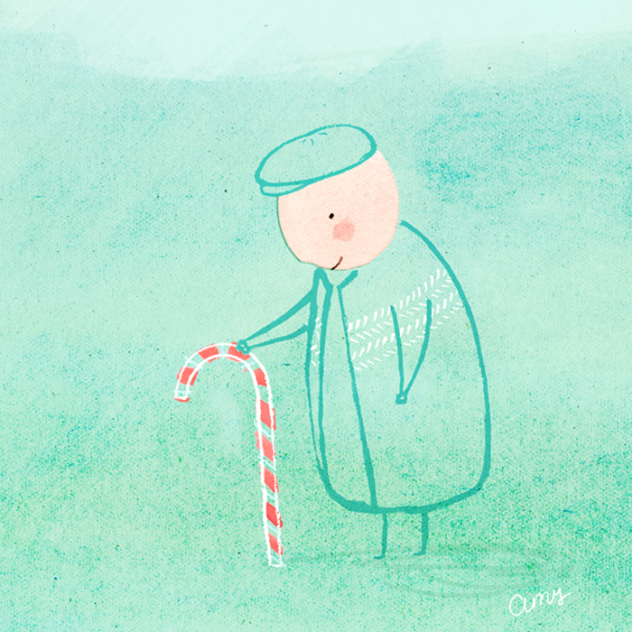 Christmas by illustrator Amy Oreo | Quirky and whimsical freelance illustration