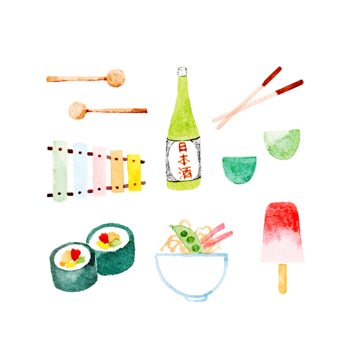 Japan by Amy Oreo | Illustrator + Designer