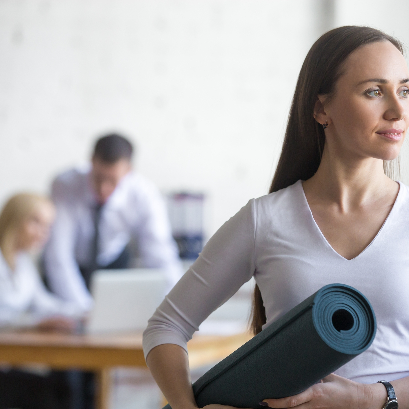Firmenyoga Business Yoga
