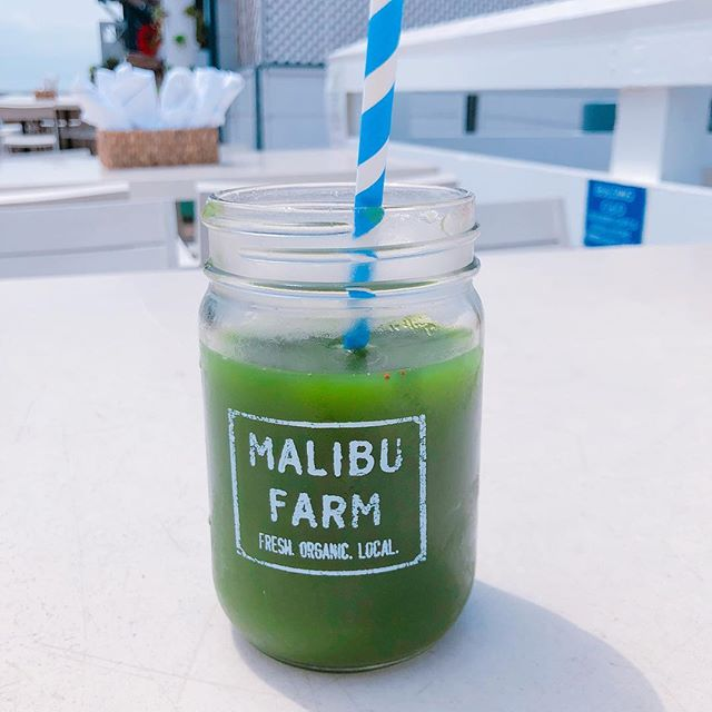 Malibu Farm // Apple and Kale Juice