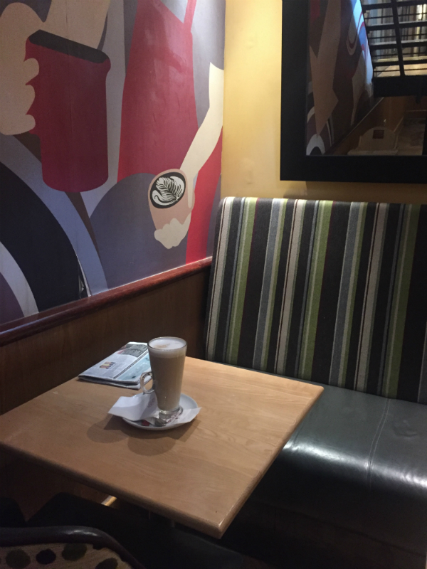 Costa Coffee, Piccadilly.