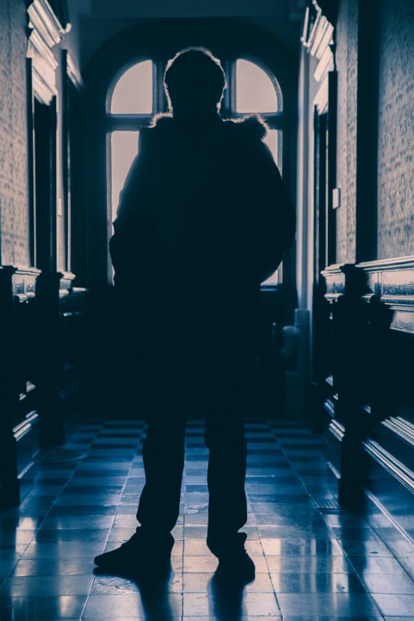Mike Nolan as Stanley Kubrick | Photo by  Glyn Rainer