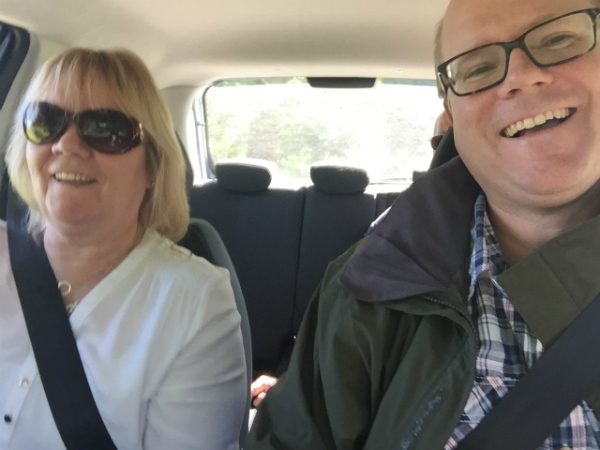 The director and his mother on the way to Offaly County Council