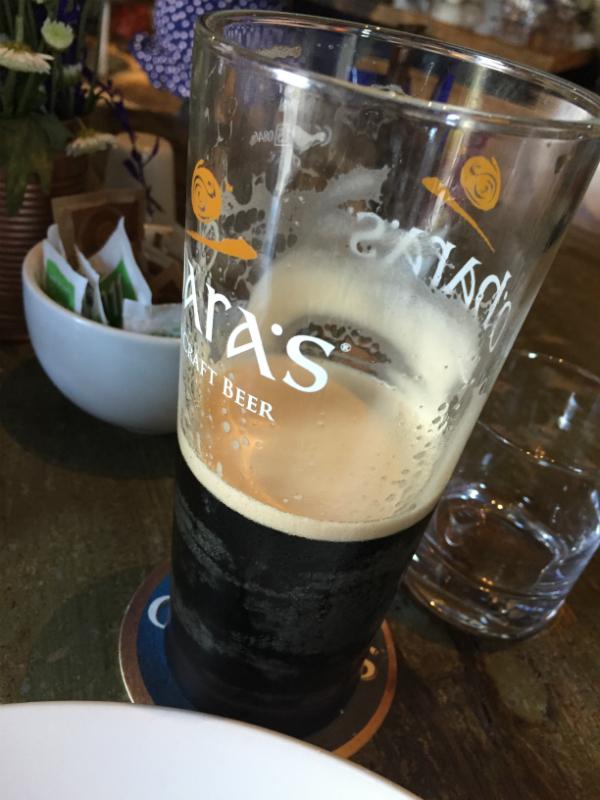 Not even a pint of Guinness