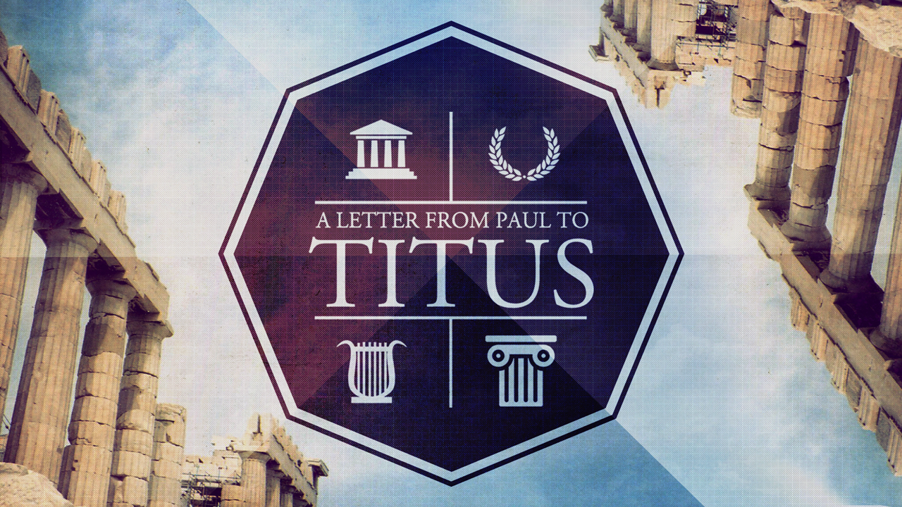 CURRENT SERIES: TITUS - As we enter into the next transition at City Church we believe Paul's letter to Titus has many timely things to say to us.
