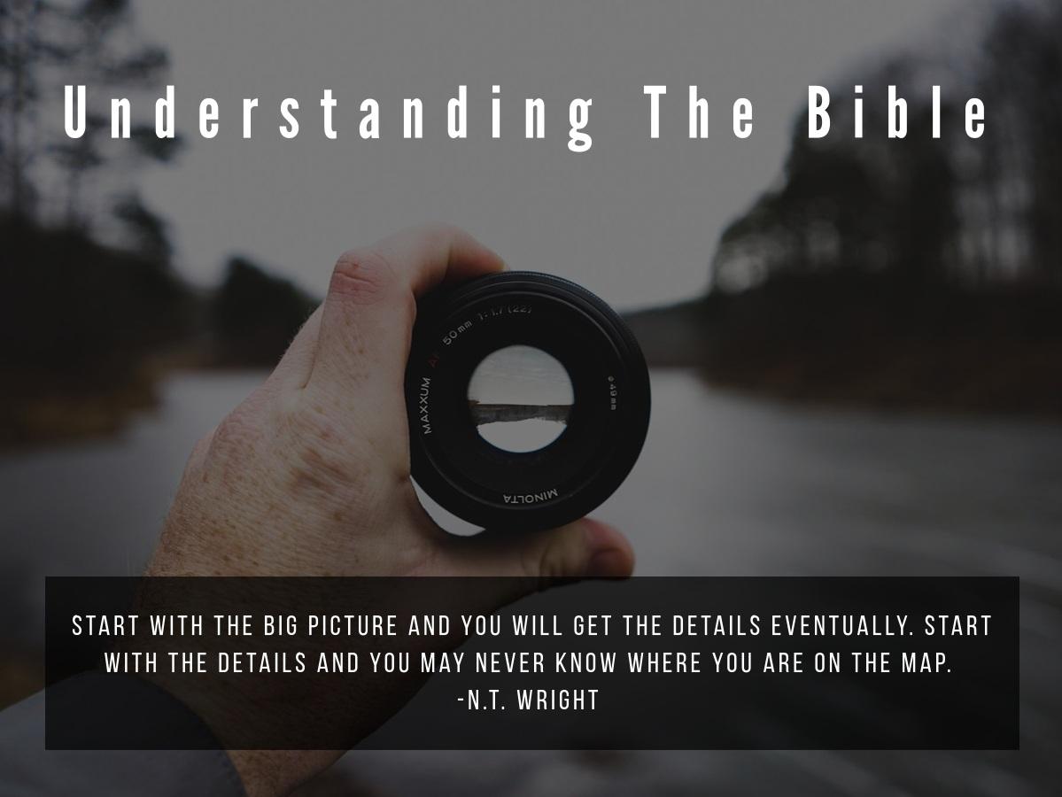 Understanding The Bible by John Stott - Sunday School with Rev. Jack Carter