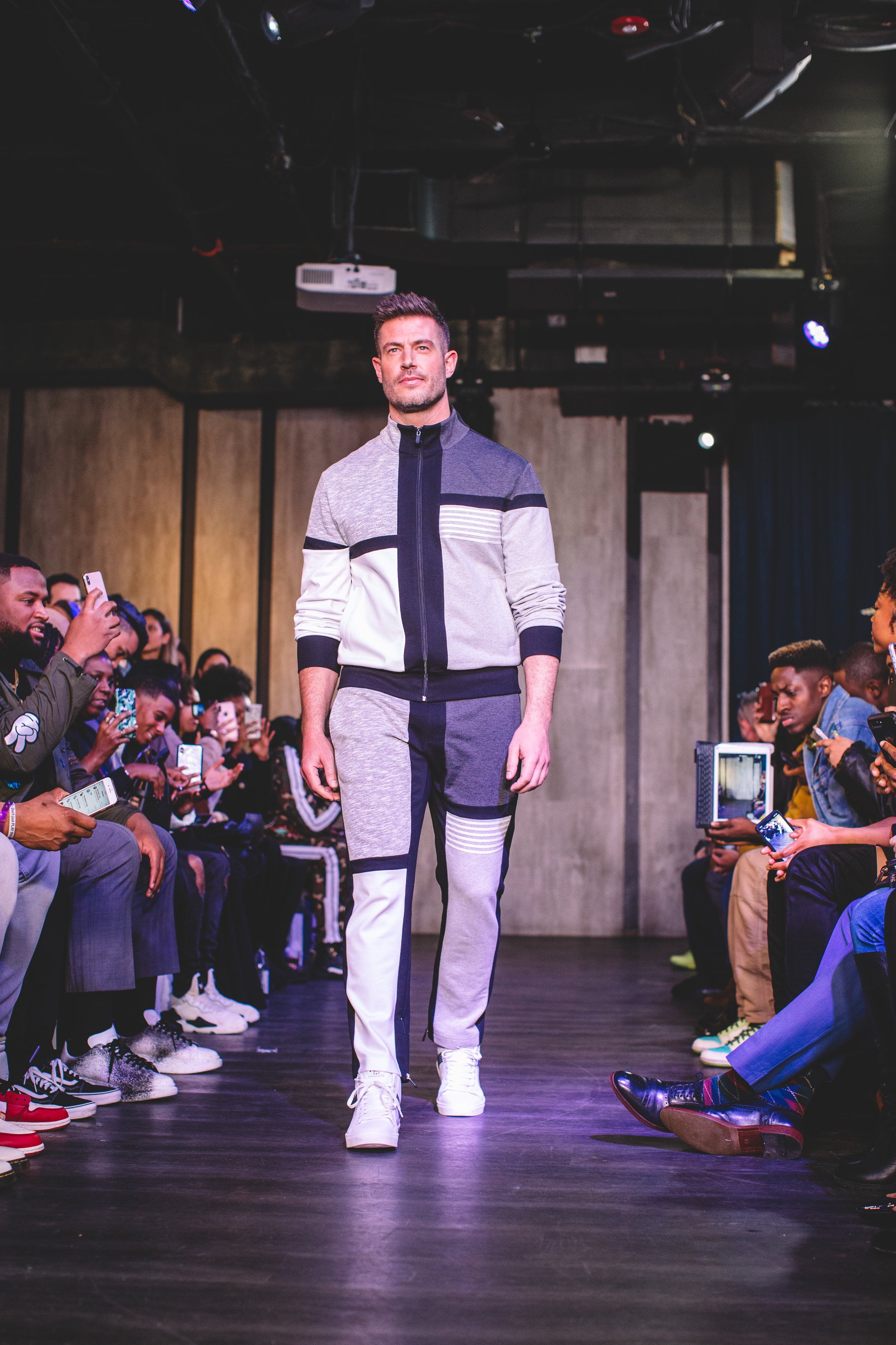 Jesse Palmer for Grungy Gentleman Runway Show