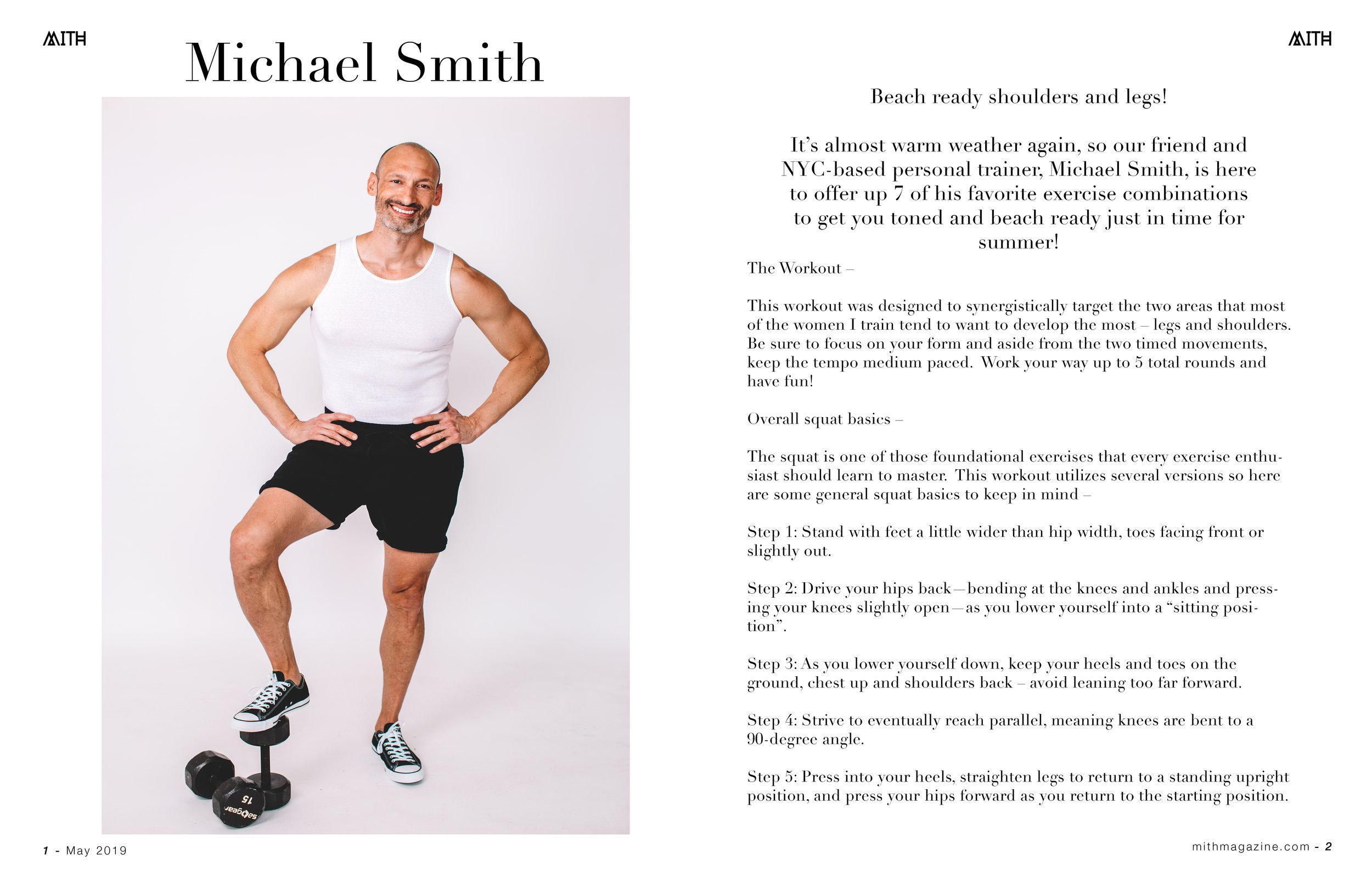 Michael Smith for Mith Magazine