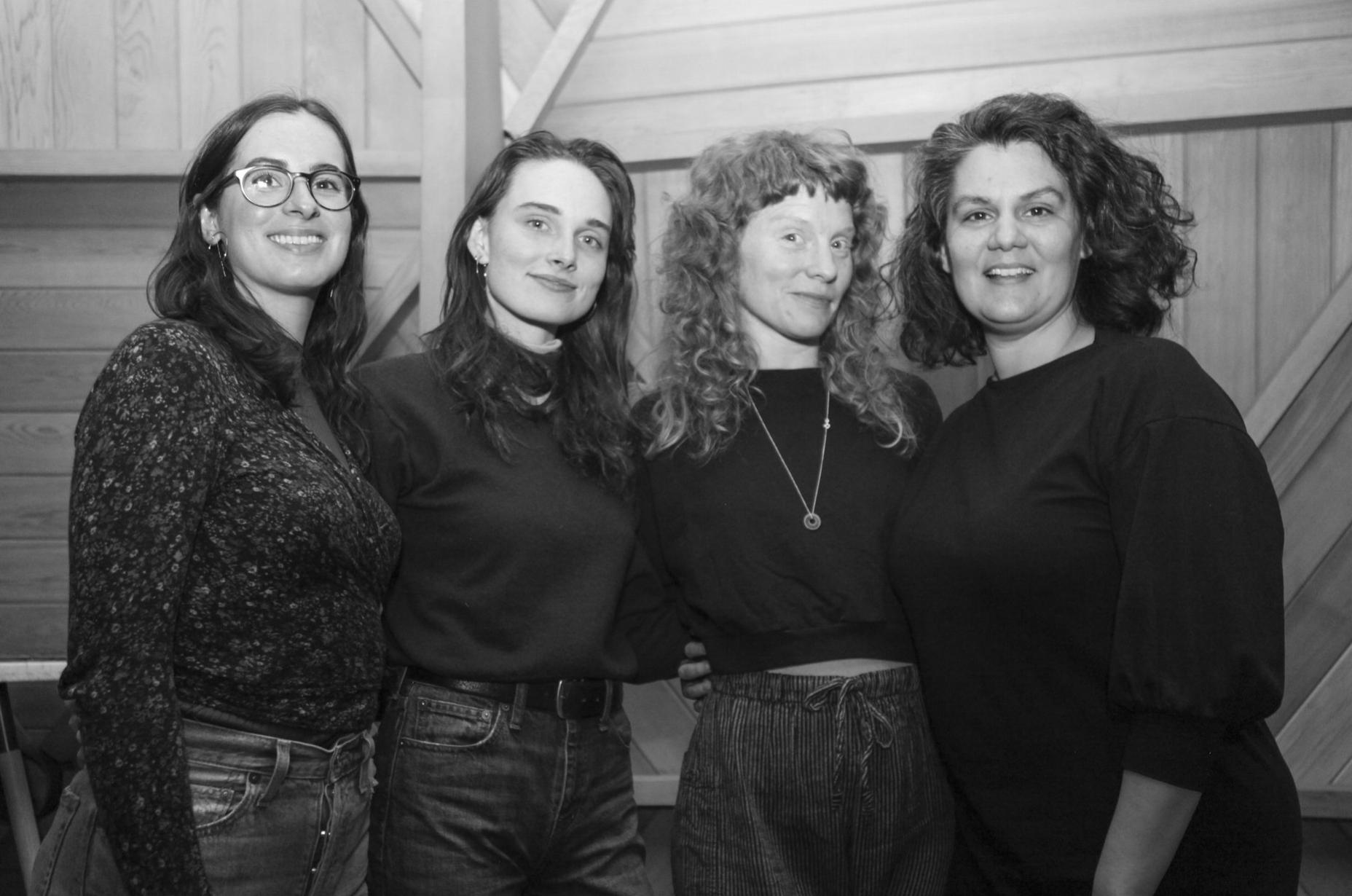 TERRA design team (l-r): Sarah Vitti, Jade Esplin, Tori Sparks, Valerie Farber