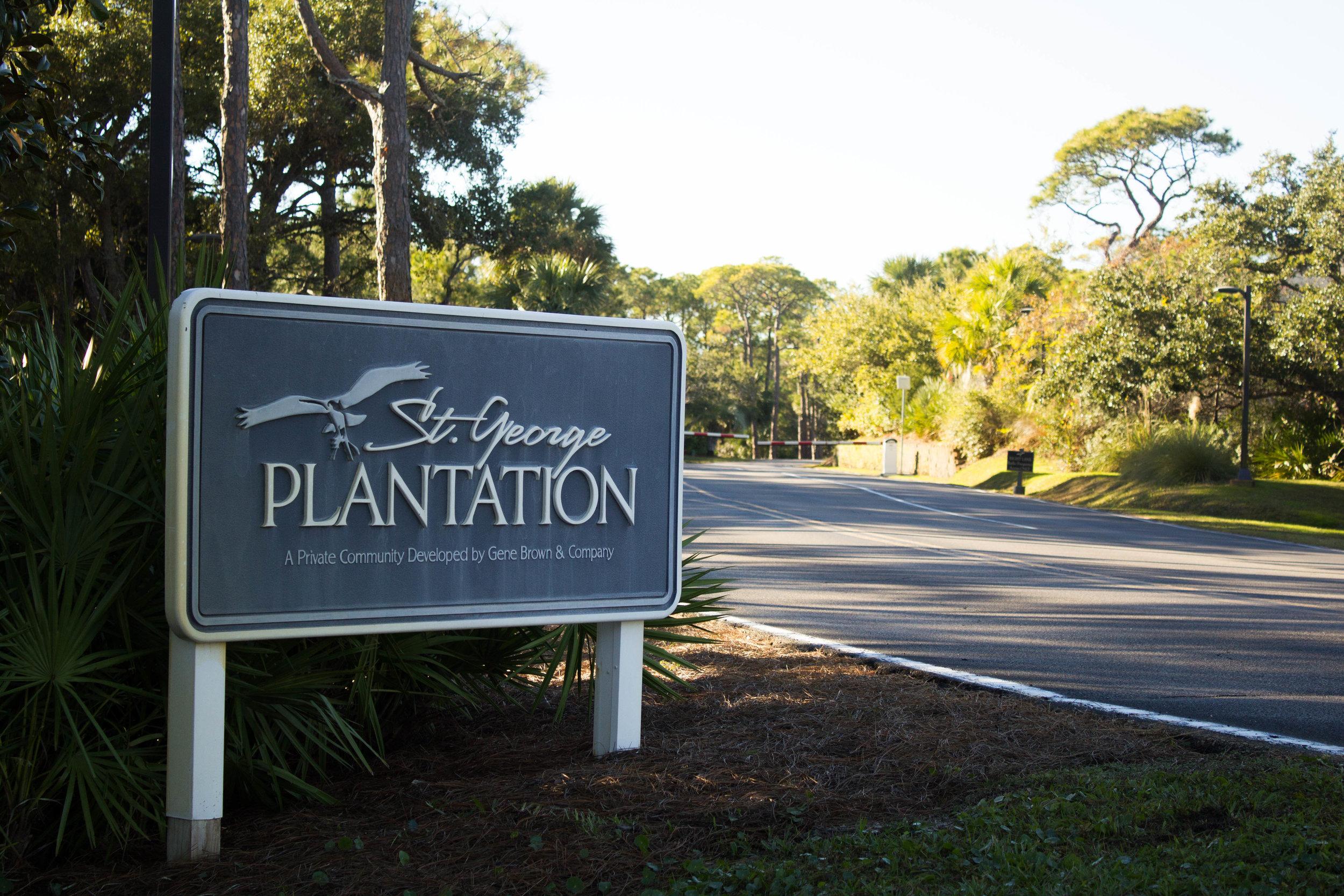 St. George Plantation Gated Community