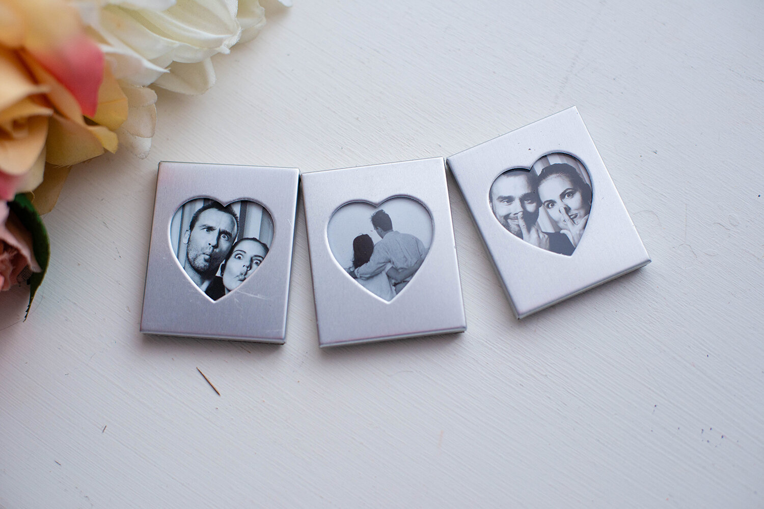 3 Pack of Mini Magnet Frames