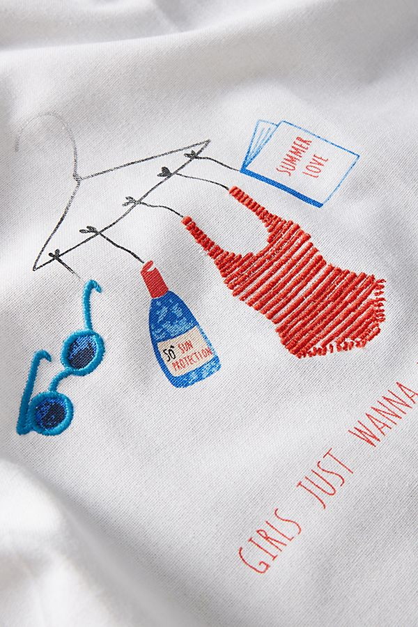 Atelier Mave for Anthropologie Summer 2019 tea towel