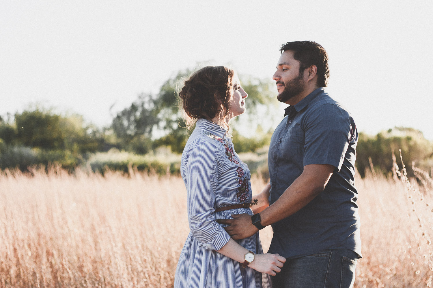 Couple | Natural light lifestyle family photography session | Mesa AZ