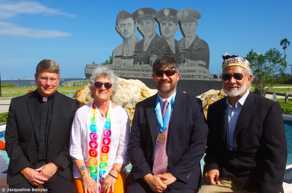 The 4 Chaplains Memorial (photo credit JBenyes)