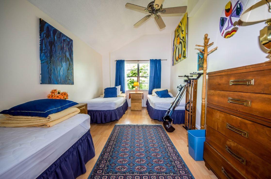 Triple room. Shared bath