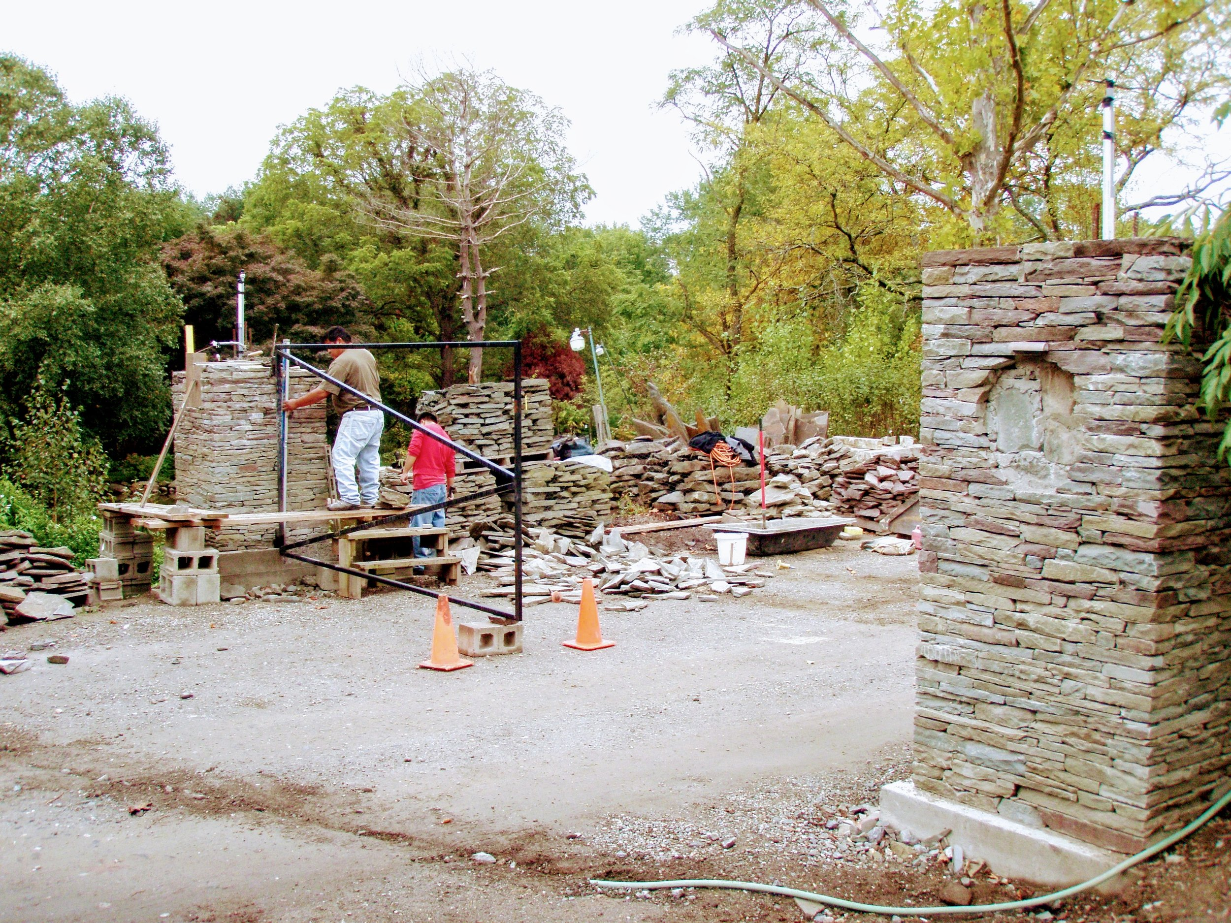 Building our Front Gate!