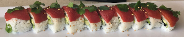 Trapper's Sushi PNW Roots Roll