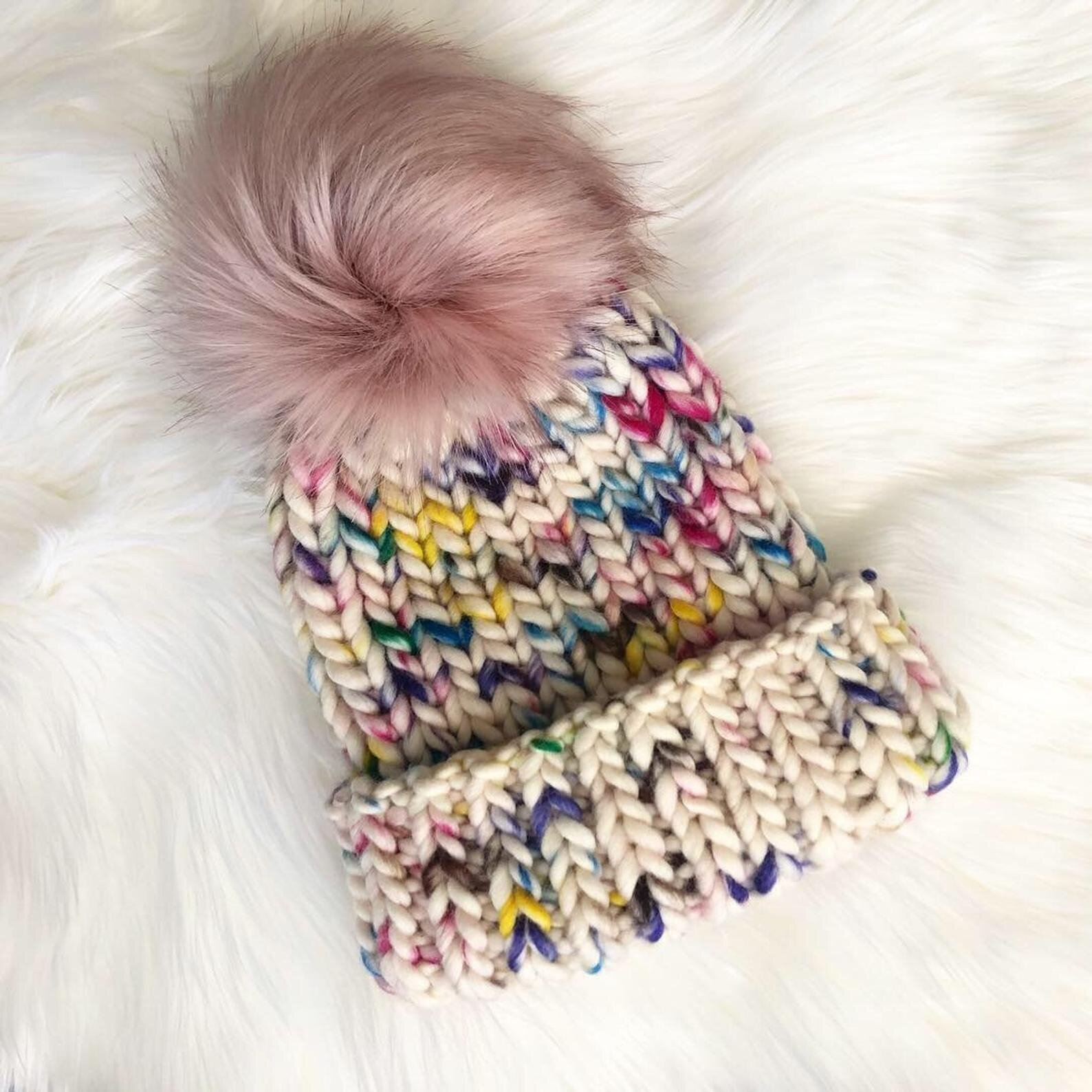 Northern Dream Studio    Hand knit hats, scarves, headbands, & mittens, including both wool-free & luxury wool items