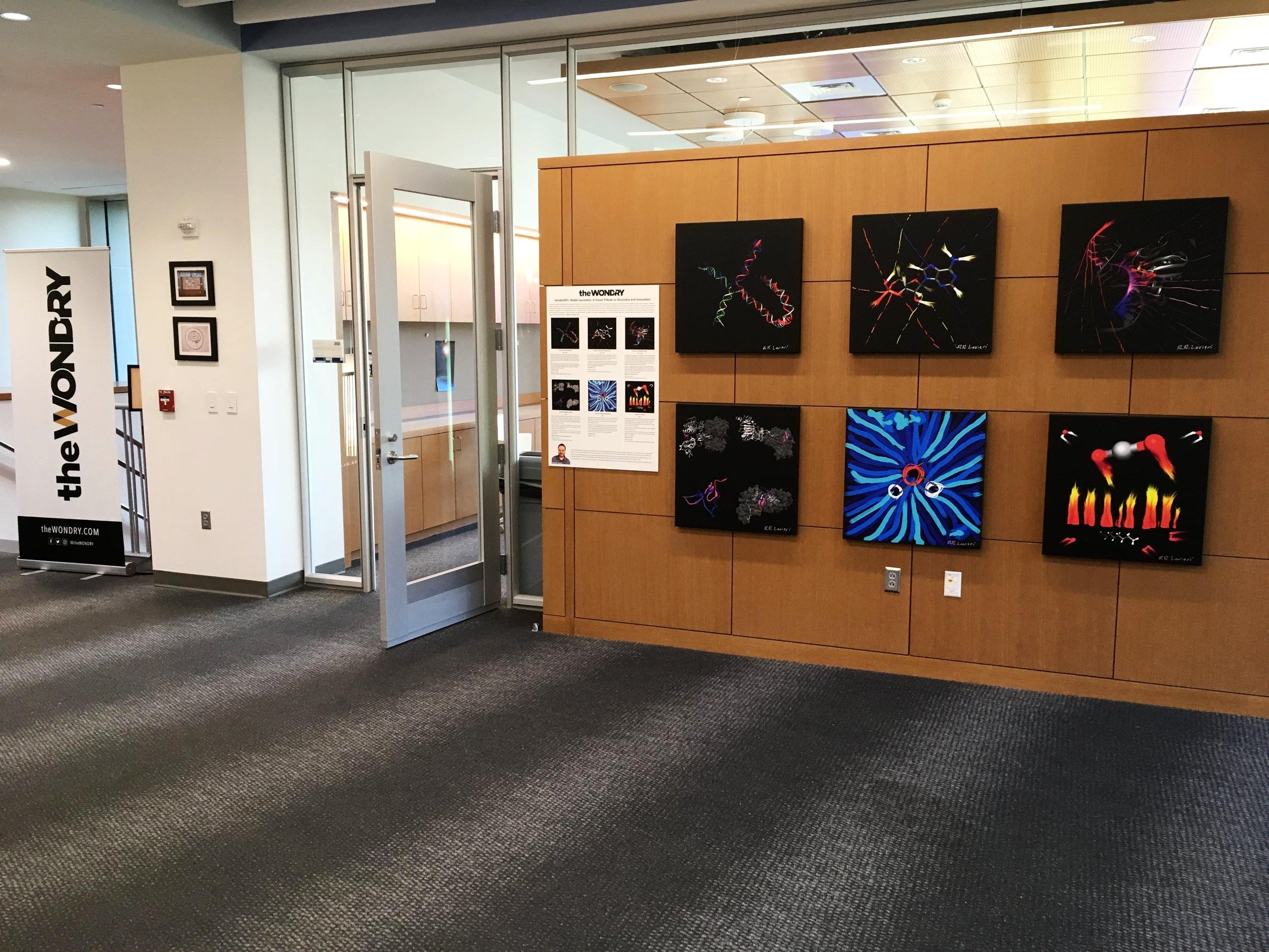 Vanderbilt's Nobel Laureates: A Visual Tribute to Discovery and Innovation , 2017, The wond'ry At vanderbilt university, nashville, tn