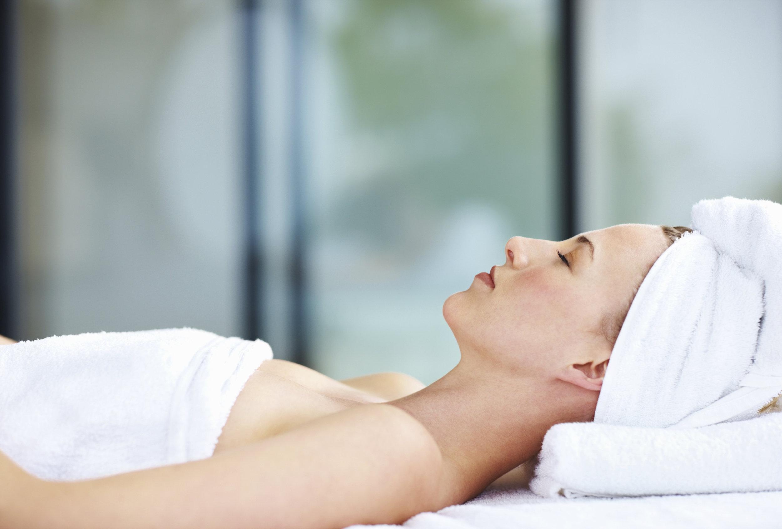 Rejuvenating spa treatment