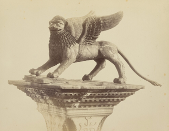 Lion of St. Mark Then
