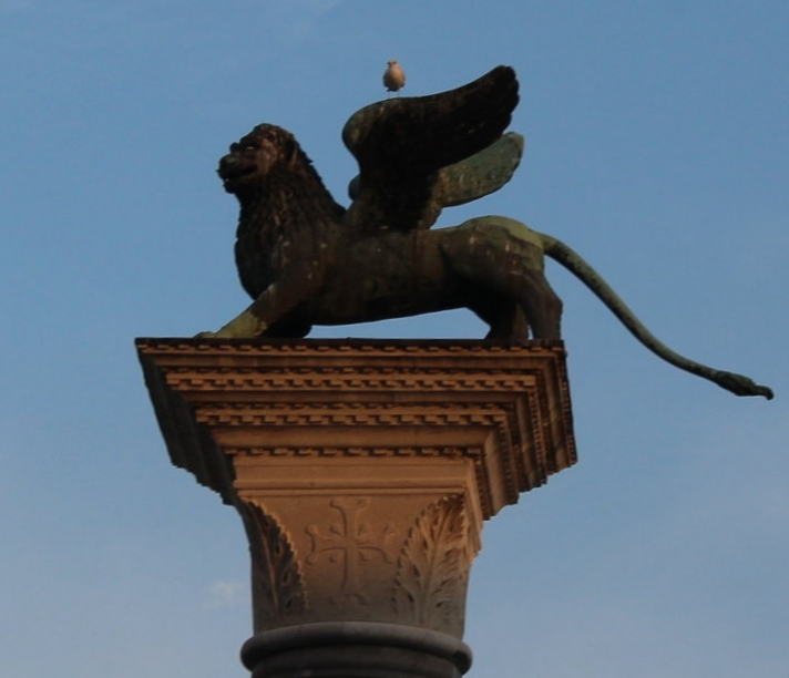 Lion of St. Mark Now