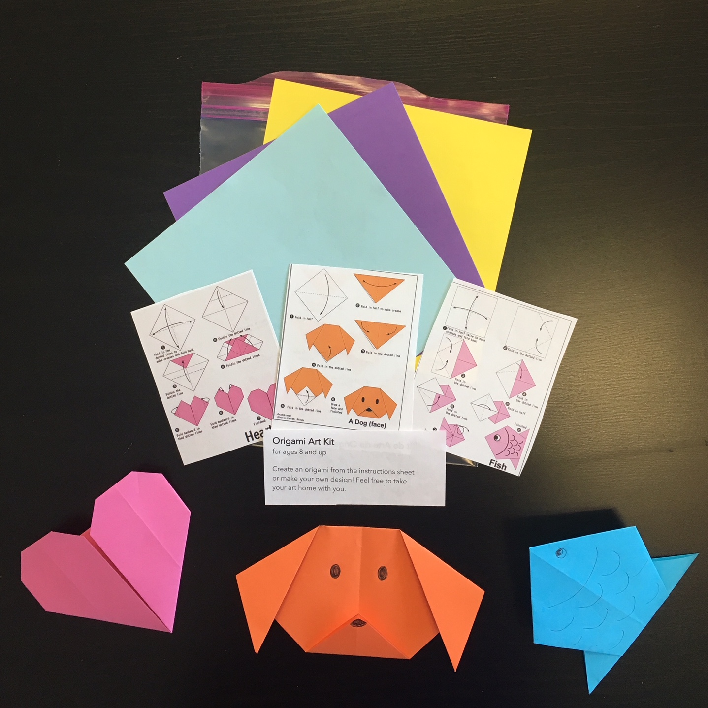 Origami Art Kit (ages 8 and up)