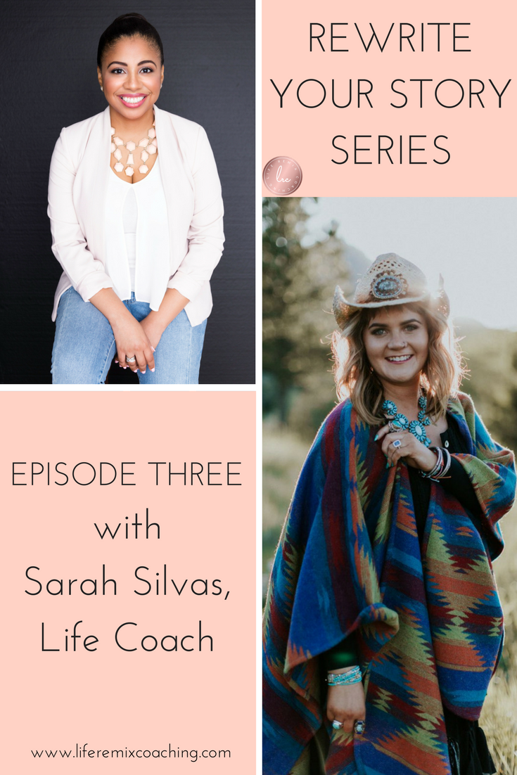 Are you ready to improve your mindset? Listen to Sarah Silvas as she talks about productivity, self-care, body love, body wisdom, and much more! Get the inspiration and motivation you need to rewrite your story and create a life you love!  https://www.liferemixcoaching.com/blog/2017/10/16/rewrite-your-story-episode-3