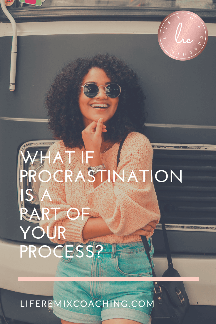 Are you silently suffering under the shame of procrastination? Learn how to stop beating yourself up & start making peace with your procrastination. www.liferemixcoaching.com/blog/2018/8/29/what-if-procrastination-is-a-part-of-your-process
