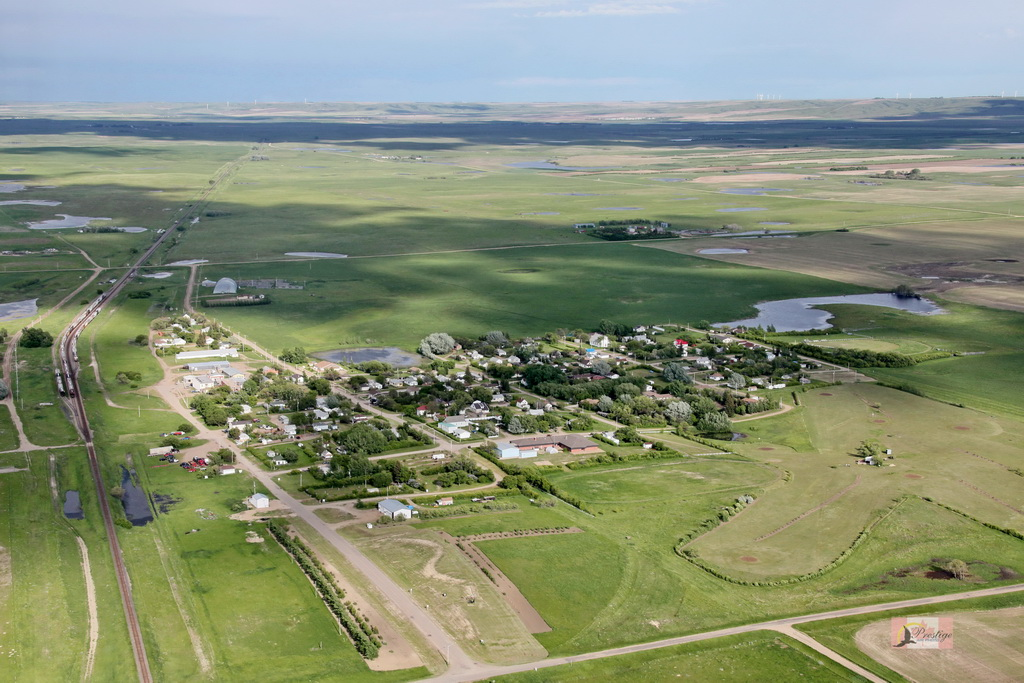 aerial photo village of tompkins.JPG