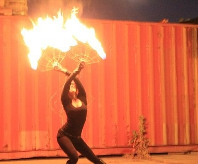Jenn Sequoia Fire Dancer