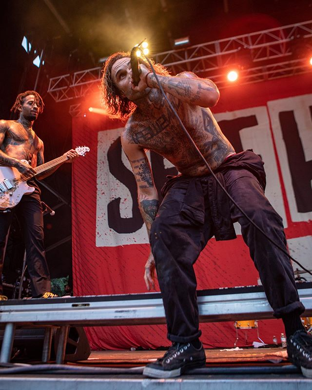 Few shots of @fever333 rocking at @selfhelpfest yesterday.